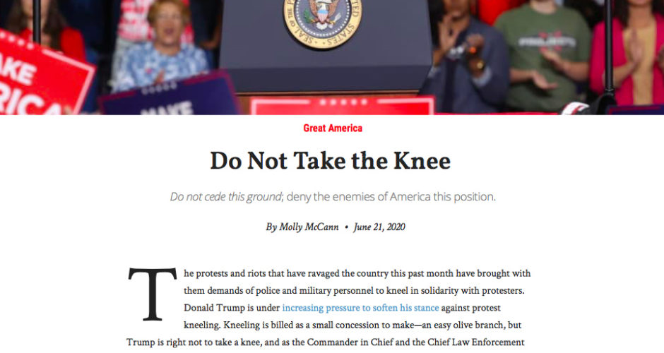 American Greatness/Don't Take A Knee